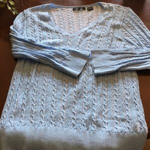 3 for $10!!!   Beautiful light blue sweater